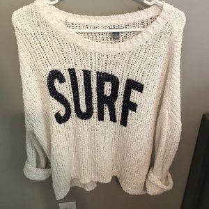 surf sweater
